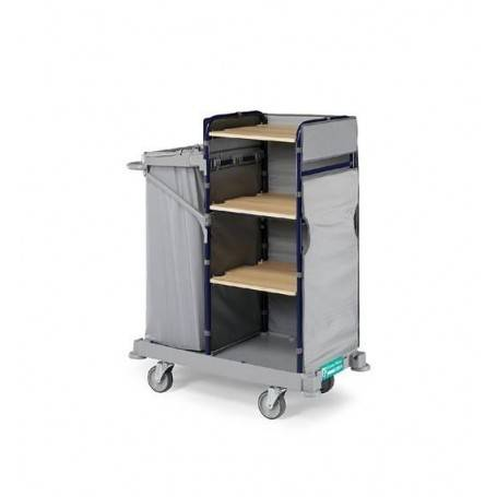 Service trolley to carry clean