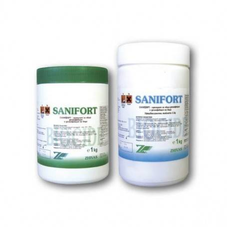 Sanifort disinfectant granules