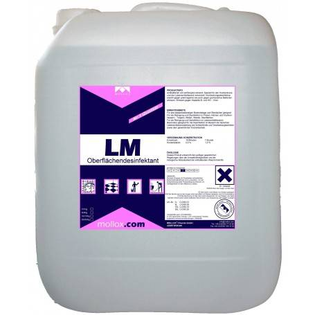 LM disinfectant floor