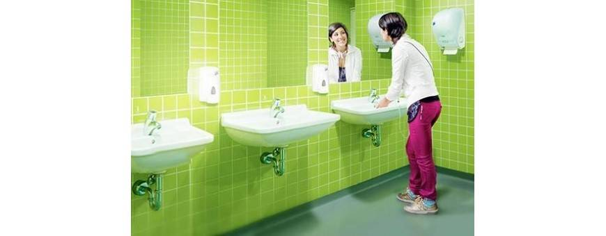 Dispensers for WC rooms